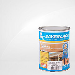 Barniz poliuretano brillante 1/4 gl Ultra transparente