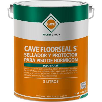 Sellador de pisos hormig n cave floorseal s 3 litros - Tipos de impermeabilizacion ...
