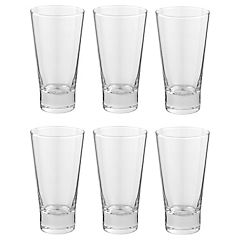 Set de vasos vidrio 466 cc 6 unidades