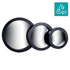 Set de espejos redondos 3 piezas