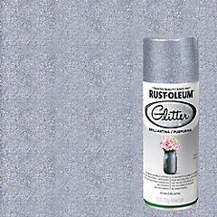 Pintura en spray brillantina 340 ml Plata
