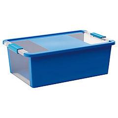 Caja organizadora 19 litros 55x35x19 cm azul