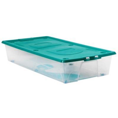 Caja bajo cama 32 litros for Cajas bajo cama carrefour