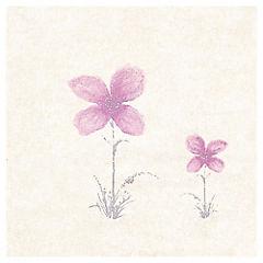 Papel mural Flor malva variedad