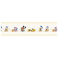 Guarda mural Mickey Mouse baby 0,53x10 m