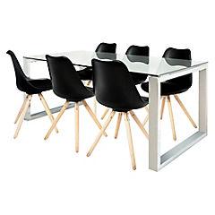 Juego de comedor Katrina 6 sillas