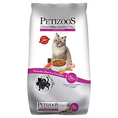 Alimento seco para gato adulto 3 kg pescado y cereales