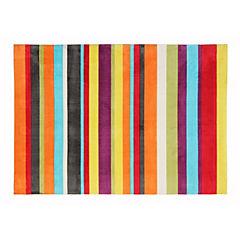 Alfombra rayas multicolor 160 x 230 cms
