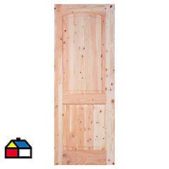 Puerta Trancura Pino oregón 70x200 cm