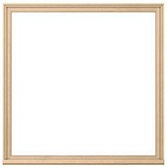 120 x 120 cm Kit ventana madera termopanel templado,