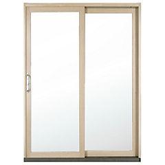 149 x 204 cm Kit ventana madera termopanel templado, corredera izquierda,