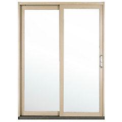 149 x 204 cm Kit ventana madera termopanel templado, corredera derecha,