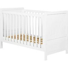 Cuna cama 100x80x145 cm blanco