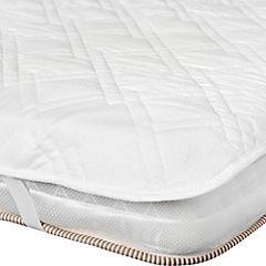 Protector para colchón 2 plazas blanco