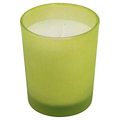 Vela en vaso manzana Verde