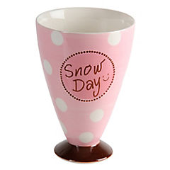 Copa helado snow day rosa