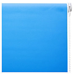 Cortina enrollable Black Out poliéster 150x250 cm azul