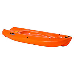 Bote kayak plástico salmón