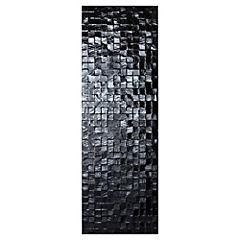 Cerámica 30 x 90 cm Matris Negro Brillante 1.08 m2