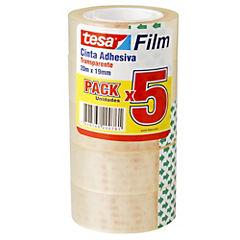 Pack 5 Cintas Adhesivas 19X20M