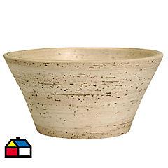 Vanitorio Ceramica Conica Beige