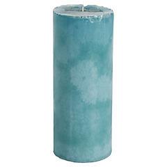 Vela decorativa 7x20 cm turquesa