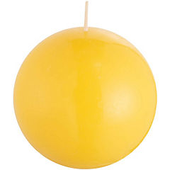 Vela Bombita Amarillo 12 cm