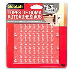 Pack 72 Un Protectores Muebles