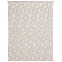 Cortina enrollable poliéster 165x120 cm Beige