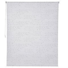 Cortina enrollable black out letras 150x250 cm
