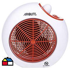 Termoventilador Blanco/Rojo Airolite