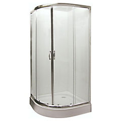 Shower curvo 90x90