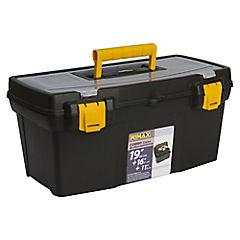 Set de cajas de herramientas plástico 3 unidades