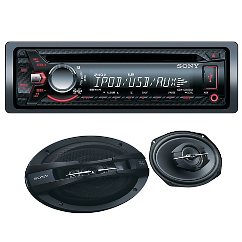 Pack Radio CDX2050 + Parlantes XS6938          Sony                       0 unidades disponibles