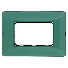 Placa con soporte Verde