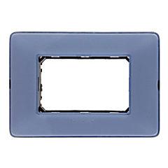 Placa color turquesa con soporte Matix