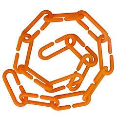 Cadena Plast Naranja 1 Mt