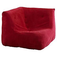 Sillón 80x90x90 cm rojo