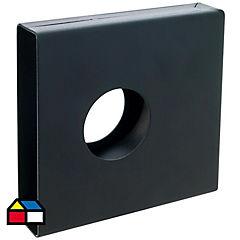 Caja para cerradura de sobreponer