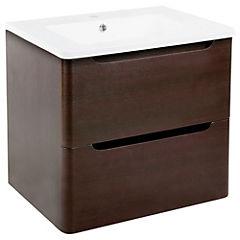 Mueble para vanitorio 60x57x45 cm Café