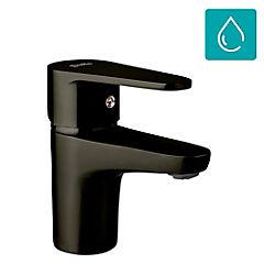 Monomando para lavamanos manual Negro