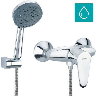 Monomando tina ducha cromo for Sodimac llaves de duchas