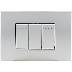Interruptor doble 16A tech armado Livinglight