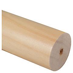 Barra de madera natural 35mm 2.0 metros