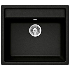 Lavaplatos 30,5x51x76,5 cm granito Negro