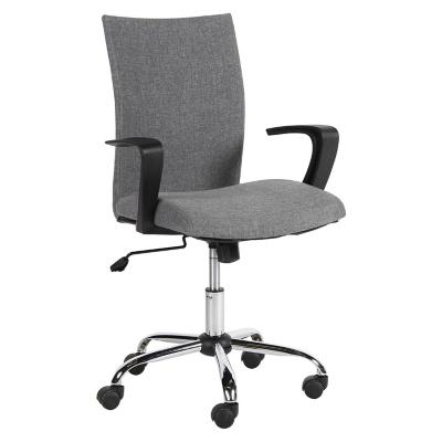 Silla para pc 59x56x89 5 97 cm gris for Sillas ergonomicas sodimac