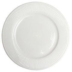 Plato redondo 27 cm Blanco