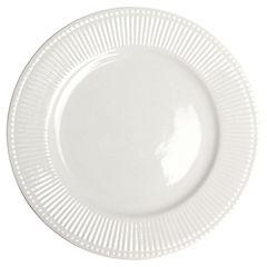 Plato ensalada 20cm Espiga blanco