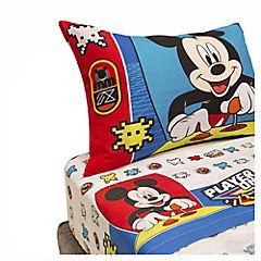 Juego de sábanas Mickey 144 hilos 1,5 plazas