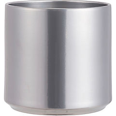 Macetero Las Velas silver 21 cm